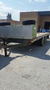 16' flat deck trailer