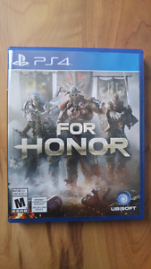 """For Honor""  PS4  parfait état"