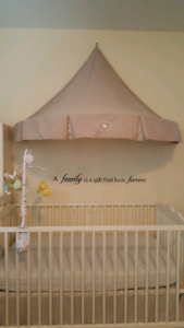 IKEA baby crib and mattress