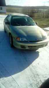 01 Chevrolet cavalier, mvi to may2017, drives great! $600