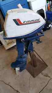 6hp evenrude outboard motor