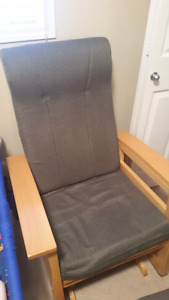 Glider Rocker  In Good condition  Great for rocking baby to slee