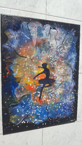 """Ballerina painting. One of a kind. 18""""x24"""""""