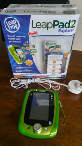 LeapPad 2 Explorer Tablet for  ages 3-9 years with 14 games.