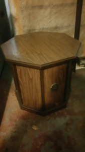 1 Octagon End Table