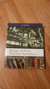 Design of fluid thermal systems - Janna 4th ed
