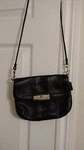 Black Roots & Coach Leather Crossbody Bags