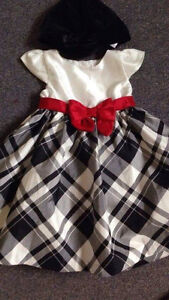 Gymboree  Holiday dress new whit hat London Ontario image 1