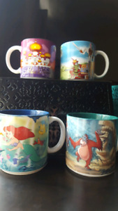 Disney Collector Mugs and Watch