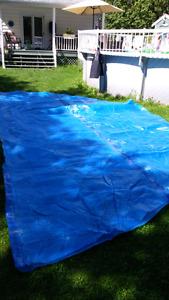 24ft round pool blanket