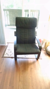IKEA Poang Rocking Chair Chocolate Brown