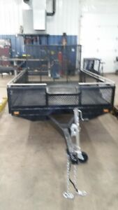 trailer 6 x10 with ramp