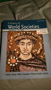A history of world societies up to 1500
