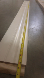 "136 FT WORTH OF 7"" WALL BASE VINYL (8' FACTORY CUTS)"