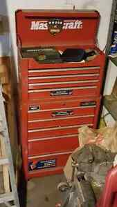 2 toolboxs Mastercraft in good condition