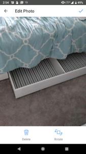 Ikea hemnes under bed storage