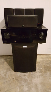 Pioneer/PolkAudio Home theatre stereo system