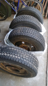 Winter tires 205/70 R15
