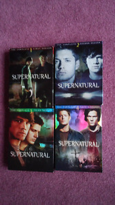 Supernatural Season 1-4 DVDs