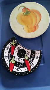 Cheese plates or Serving dishes
