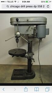 SHOP GRADE DRILL PRESS