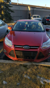 Ford Focus SEL 2012 low mileage 98000kms for only 8500$.