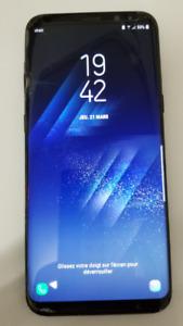 Samsung Galaxy S8+ vitre craquée mais fonctionnel