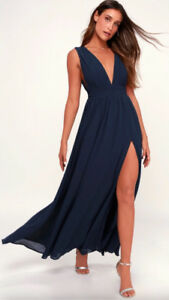 Lulus Navy dress
