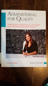 Administering for Quality 5th Edition Karen Chandler