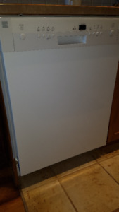 Used Kenmore Stainless Steel Dishwasher