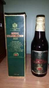 Boxed Royal Celebration Ale 1981 Peterborough Peterborough Area image 1