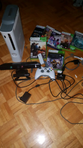 Xbox 360 Bundle with kinect and