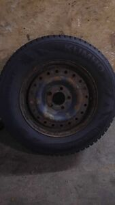 Pratically new tires for sale West Island Greater Montréal image 2