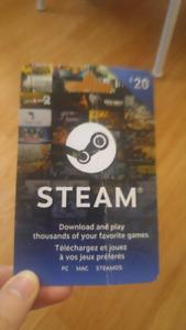 $20 Steam Card