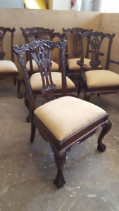 6 new dining chairs