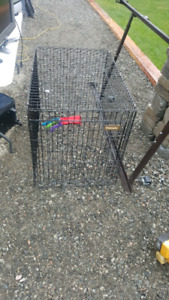 Dog cage. Mint condition