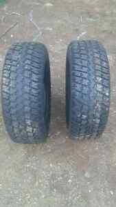 2 x 225/70/14 winter tire like new condition
