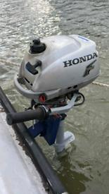 OUTBOARD BOAT ENGINE Honda 4 strokes, 2HP