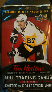 2017 2018 Tim Hortons hockey cards