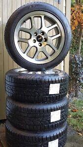 4 pneus d'hiver sur mags!