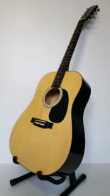 Squier (Fender) Acoustic Guitar. Mod: 093-0300-021