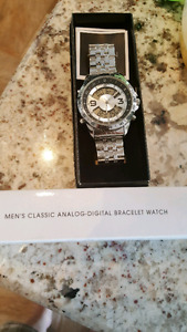 New in box mens watch