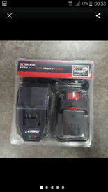 Parkside battery and charger new x20 team
