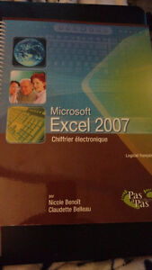 Microsoft Excel 2007 Chiffrier électronique,Collection pas à pas