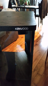 Sound system stand...meuble stereo KENWOOD