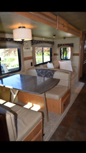 2015 29ss sunset trail reserve with quad bunk room