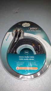 Energy Stereo Audio Cable 2 metres