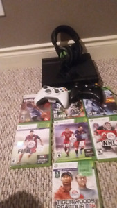Xbox 360 with added items