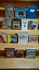 15 Pioneers children's picture/information books