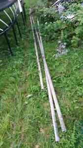 50 feet of frost fence chain link and posts West Island Greater Montréal image 4